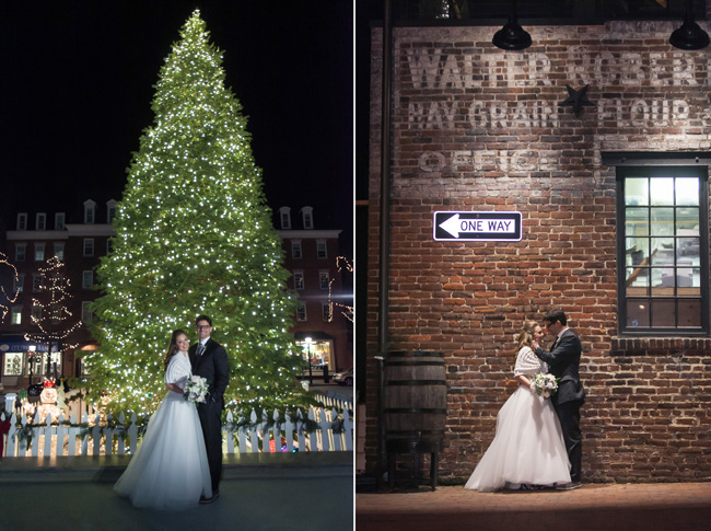 Winter Wedding at the Torpedo Factory